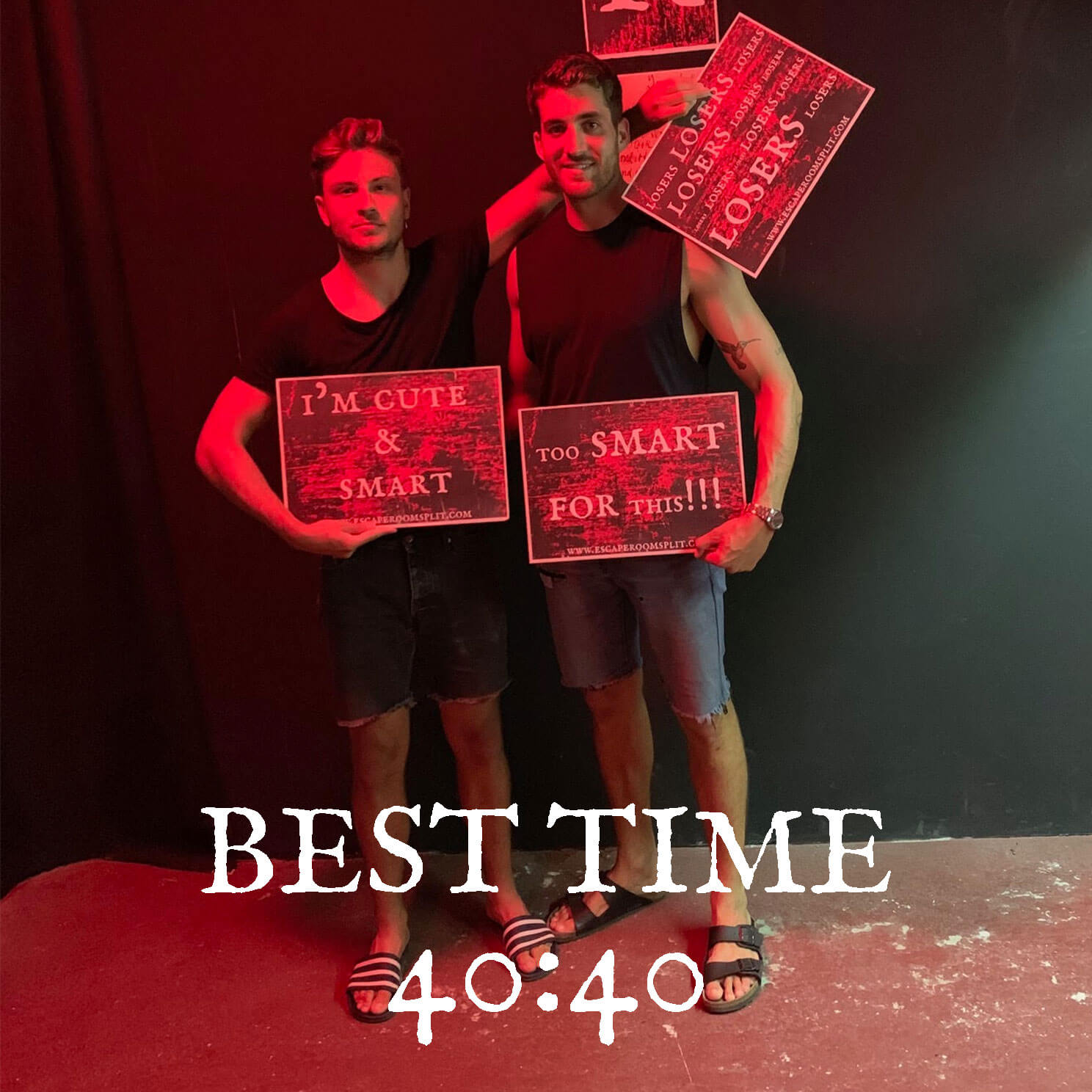 ESCAPE ROOM SPLIT BEST TIME